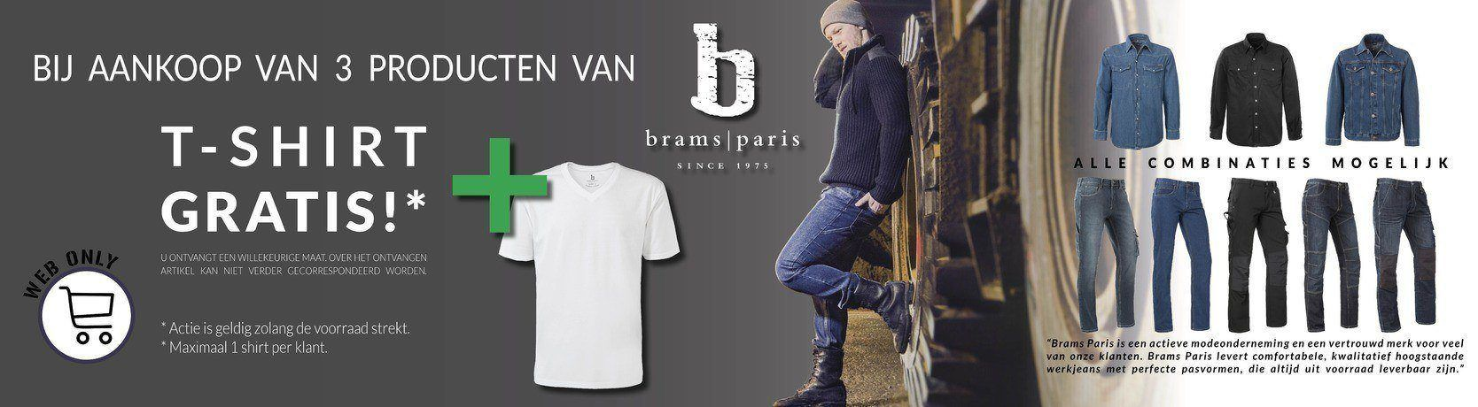 Brams Paris GRATIS TSHIRT